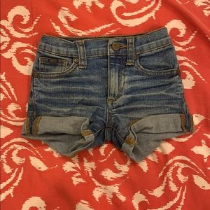 Joe's jeans shorts - 18months